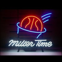 Miller Time Basketball Neontábla