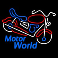 Motor World Neontábla