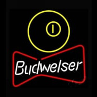 NEW Budweiser Pool Bowtie Beer Light Neontábla