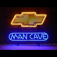 New Chevrolet Chevy Man Cave Neontábla