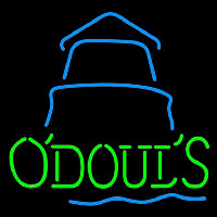 Odouls Day Lighthouse Beer Sign Neontábla