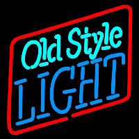 Old Style Light Beer Sign Neontábla