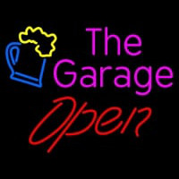 Open The Garage Neontábla