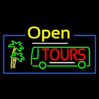 Open Tours Neontábla