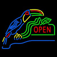 Open With Parrot Neontábla