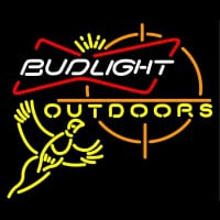 Outdoors Pheasant Hunting Bud Light Neontábla