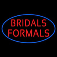 Oval Bridals Formals Neontábla