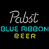 Pabst Blue- Ribbon Beer Te t Beer Sign Neontábla