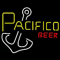 Pacifico Beer Anchor Neontábla