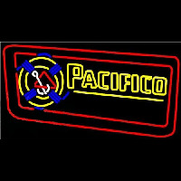 Pacifico Rope Inlaid Beer Sign Neontábla