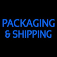 Packaging And Shipping Neontábla