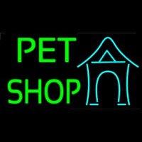 Pet Shop 1 Neontábla