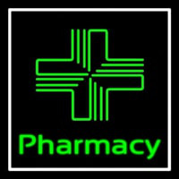 Pharmacy With Plus Logo Neontábla