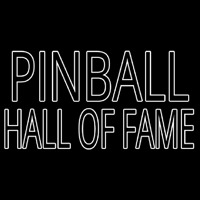 Pinball Hall Of Fame Neontábla