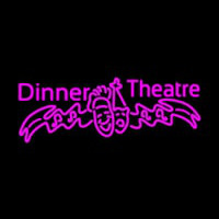Pink Dinner Theatre Neontábla