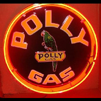 Polly Gasoline Neontábla