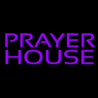 Purple Prayer House Neontábla