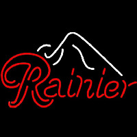 Rainier Ice Mountain Beer Sign Neontábla