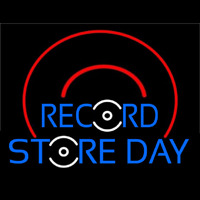 Record Store Day Neontábla