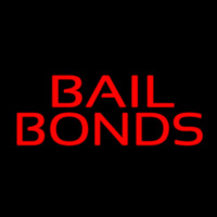 Red Bail Bonds Neontábla