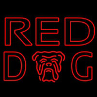 Red Dog Beer Sign Neontábla