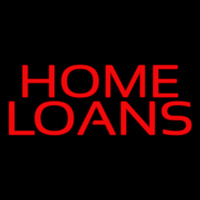 Red Home Loans Neontábla