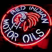 Red Indian Motor Oils Sör Kocsma Neontábla