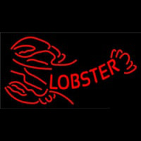 Red Lobster Logo Neontábla
