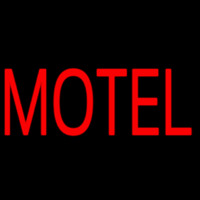 Red Motel Neontábla