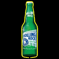 Rolling Rock Cincy Beer Sign Neontábla