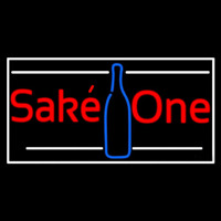 Sake One With Bottle 1 Neontábla
