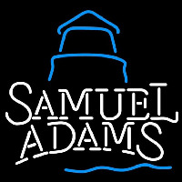 Samual Adams Day Lighthouse Beer Sign Neontábla