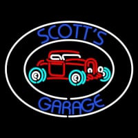 Scotts Garage Neontábla