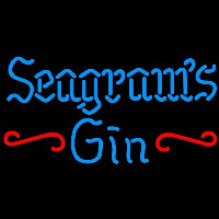 Seagrams 7 Promotional Gin Beer Sign Neontábla