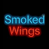 Smoked Wings Neontábla