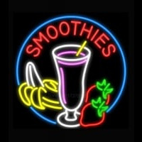 Smoothies with Fruit Neontábla