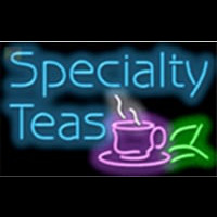 Specialty Teas Cafe Neontábla