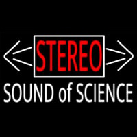 Stereo Sound Of Science Neontábla