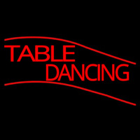 Table Dancing Neontábla