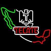 Tecate California Beer Sign Neontábla