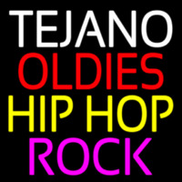 Tejano Oldies Hiphop Rock 2 Neontábla