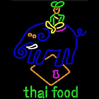 Thai Food Neontábla