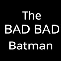 The Bad Batman Neontábla