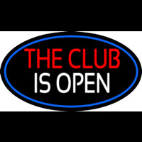 The Club Is Open Neontábla