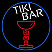 Tiki Bar Martini Neontábla