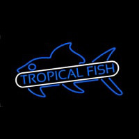 Tropical Fish Blue Neontábla