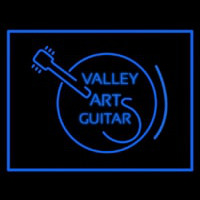 Valley Arts Guitars Logo Neontábla