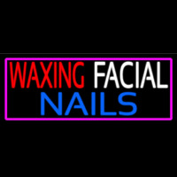 Wa ing Facial Nails Neontábla