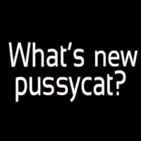 Whats New Pussycat Neontábla