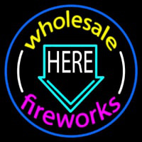 Wholesale Fireworks Here 2 Neontábla